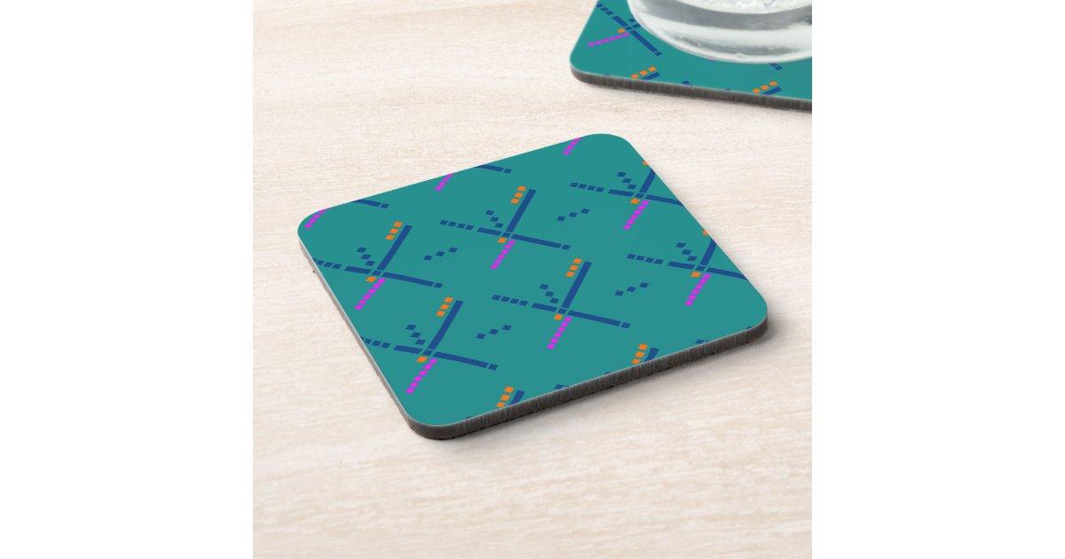Portland Oregon PDX Airport Carpet Coaster Zazzle