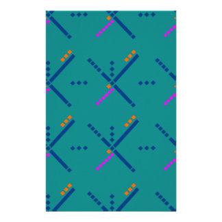Portland Oregon PDX Airport Carpet Stationery