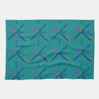 Portland Oregon PDX Airport Carpet Towel
