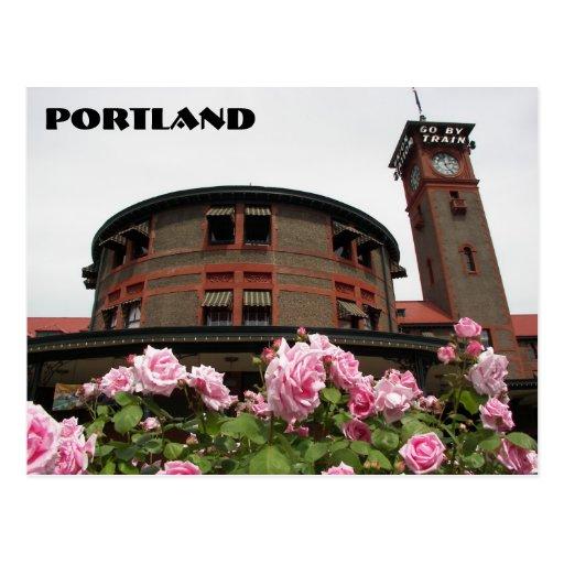 Portland, Oregon Post Card