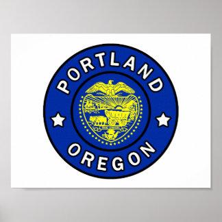 Portland Oregon Poster