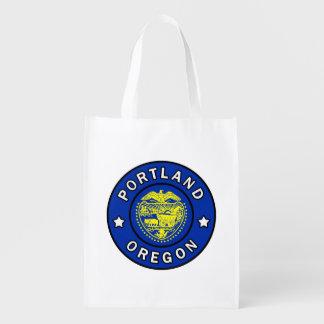 Portland Oregon Reusable Grocery Bag