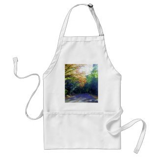 Portland, Oregon Road to the Rose Garden Adult Apron
