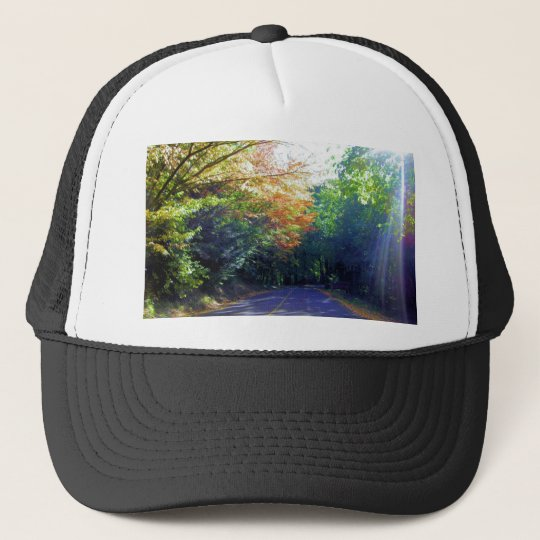 Portland, Oregon Road to the Rose Garden Trucker Hat
