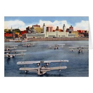 Portland Oregon Seaplanes Card