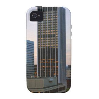 Portland Oregon Skyline at Dusk iPhone 4 Covers