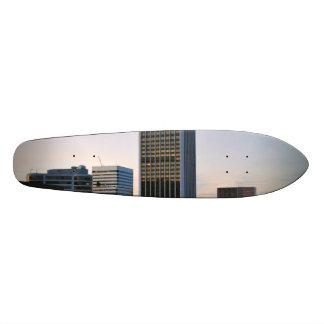 Portland Oregon Skyline at Dusk Custom Skateboard