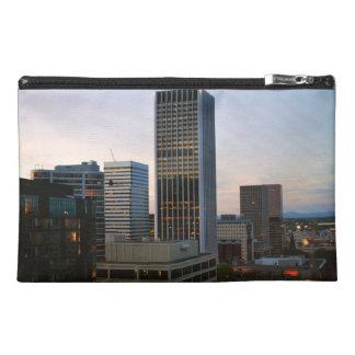 Portland Oregon Skyline at Dusk Travel Accessories Bags