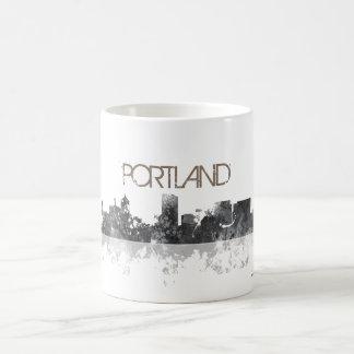 PORTLAND OREGON SKYLINE COFFEE MUG
