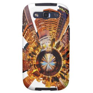 PORTLAND oregon skyline planet Samsung Galaxy S3 Cases