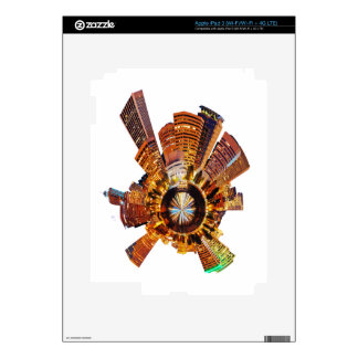 PORTLAND oregon skyline planet iPad 3 Skins