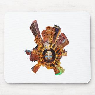 PORTLAND oregon skyline planet Mouse Pad