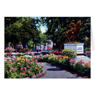 Portland Oregon South Park Blocks City Park Card