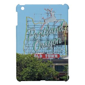 Portland Oregon Stag Sign iPad Mini Cover