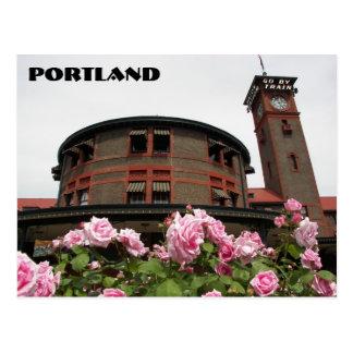 Portland, Oregon Travel Photo Postcard