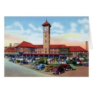 Portland Oregon Union Station Card