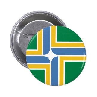 Portland, Oregon, United States flag Pinback Button