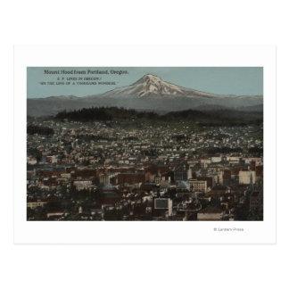 Portland, Oregon - vista del centro de la ciudad Tarjeta Postal