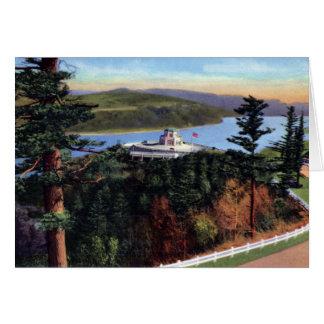 Portland Oregon Vista House at Crown Point Card