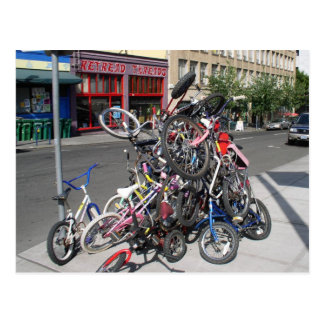 Portland Oregon Zoobomber Bikes June 2003 Postcard