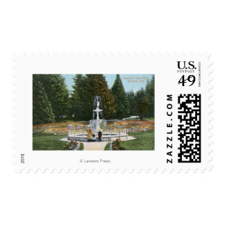 Portland, OregonCity Park Fountain View Stamps