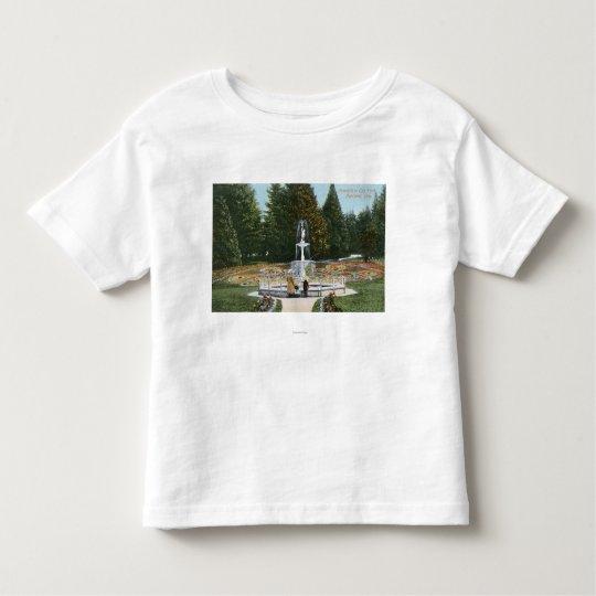 Portland, OregonCity Park Fountain View Toddler T-shirt