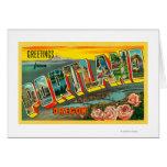 Portland, OregonLarge Letter Scenes Card