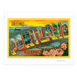 Portland, OregonLarge Letter Scenes Post Cards