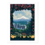 Portland, OregonRose Garden Scene Postcards