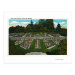 Portland, OregonView of the Rose Test Gardens Postcard