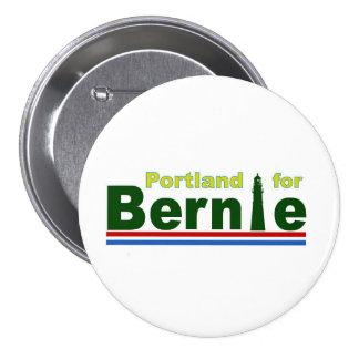 Portland para Bernie Pin Redondo De 3 Pulgadas