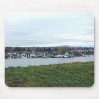 Portland River Water Mouse Pad