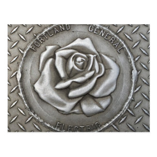 Portland Rose Grate Post Card