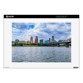 "Portland Skyline 15"" Laptop Skins"