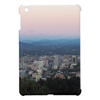 Portland Skyline at Sunset iPad Mini Covers