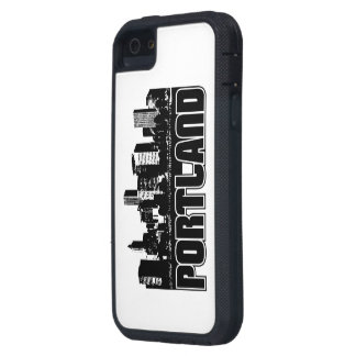 Portland Skyline Cover For iPhone 5
