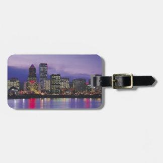 Portland Skyline Luggage Tag
