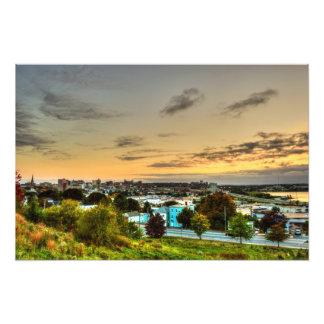 portland skyline photographic print