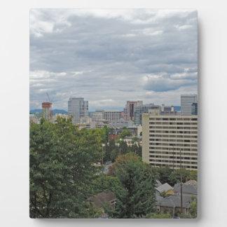 Portland Skyline Plaques
