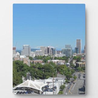 Portland Skyline Photo Plaques