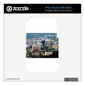 Portland Skyline iPod Touch 4G Skins