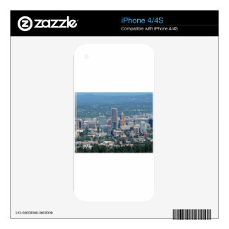 Portland Skyline Skins For iPhone 4S