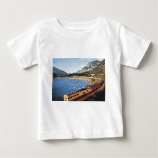 Portland Streamliner, Columbia River Gorge Vintage Baby T-Shirt