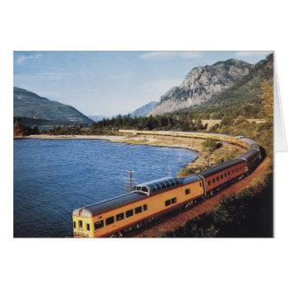Portland Streamliner, Columbia River Gorge Vintage Card