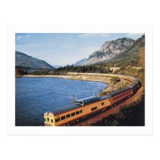 Portland Streamliner, Columbia River Gorge Vintage Postcard