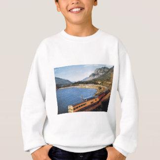 Portland Streamliner, Columbia River Gorge Vintage Sweatshirt