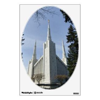 PORTLAND TEMPLE WALL ART WALL STICKER