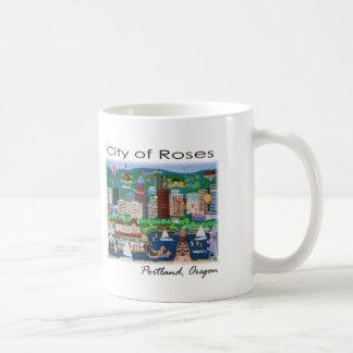 Portland~ The City of Roses Coffee Mug