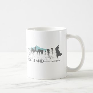 Portland Urban Coyote Project Coffee Mug