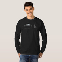 Portland Urban Coyote Project Dark Long-sleeved T-Shirt